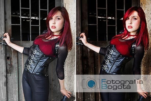 Fotografía de casting profesional Bogotá modelaje book