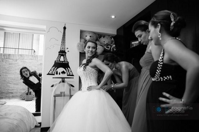 fotografias de bodas en blanco y negro pajesitos novia princesa