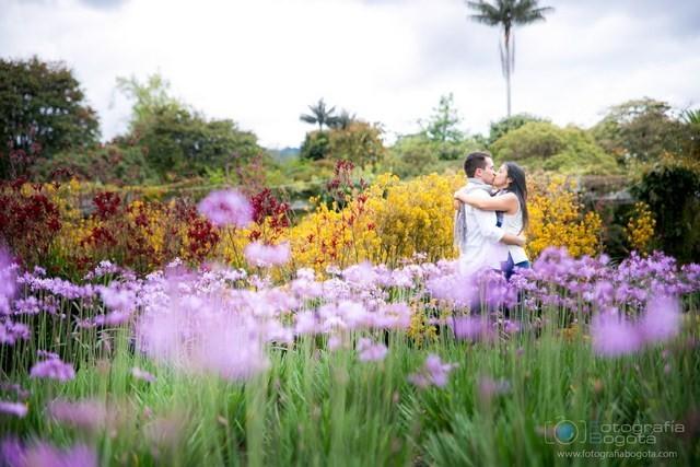 Fotos para parejas sesiones fotograficas para novios pre bodas for Jardin botanico bogota nocturno 2016
